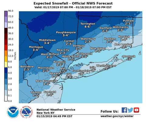 Parts of CT under winter storm watch - Connecticut Post