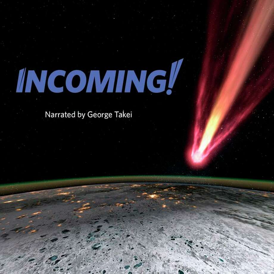 'Incoming!' plays at 3:30 p.m. Saturdays through April 27 in Delta Planetarium's Dome360 Theatre in Bay City. (photo provided)