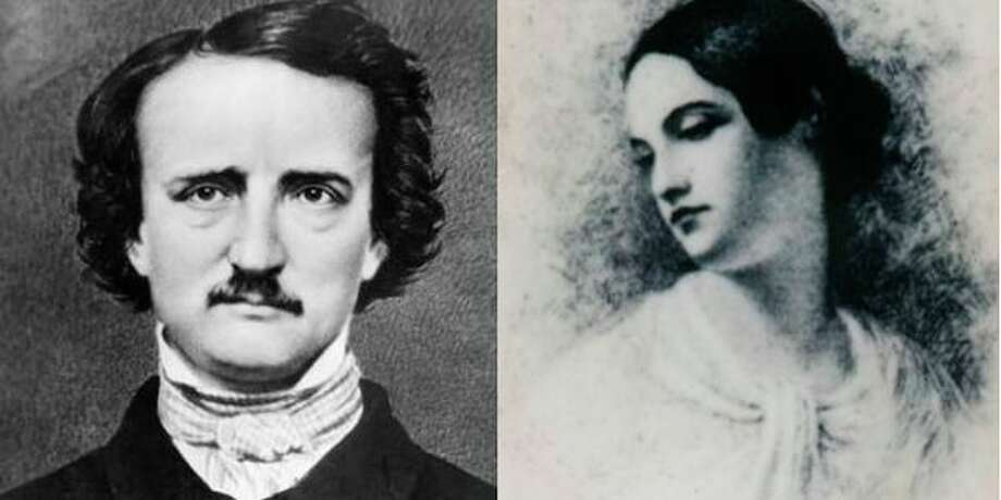 Actors Matthew Hutchinson and Arlo Turpin bring the mysterious Edgar Allan Poe and his wife Virginia to life at 7 p.m. Saturday, Jan. 19, on the Creative 360 stage, 1517 Bayliss St.