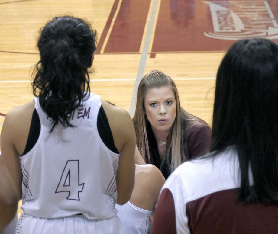 Assistant coach Tori Tucker will finish the season for the second straight year leading the Dustdevils after being named interim head coach this week following Jeff Caha's firing. Photo: Cuate Santos /Laredo Morning Times File / Laredo Morning Times