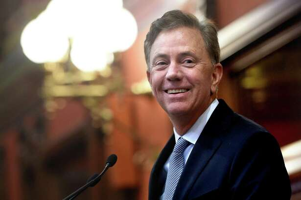 Governor Ned Lamont arrives to a joint session of the Connecticut General Assembly in Hartford to deliver the State of the State address on January 9, 2019.