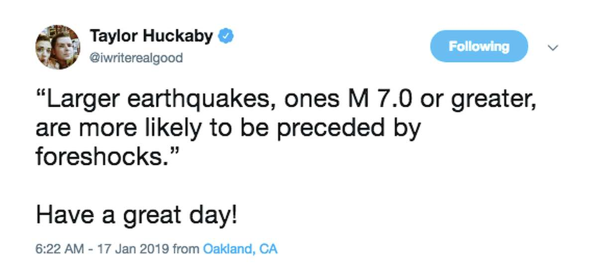 Twitter reacts to the back-to-back mornings of shaking in the East Bay.