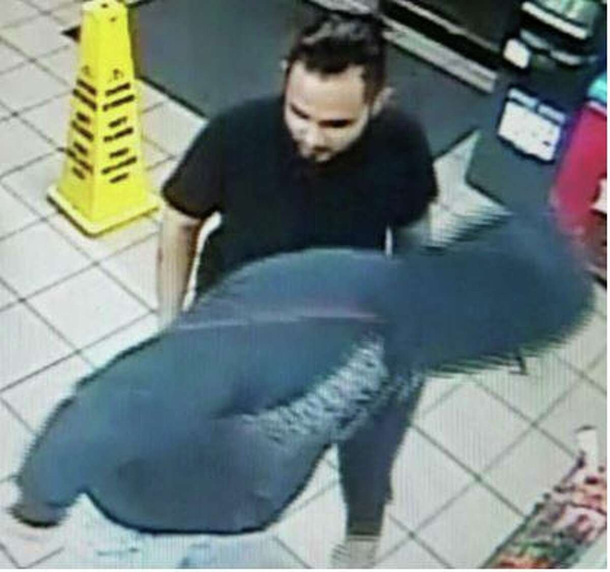 These two men are sought by Laredo police in connection with a robbery that occurred Jan 12. in the 3400 block of North Arkansas Avenue.