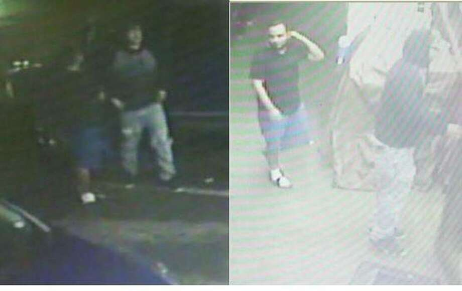 Laredo police said they need to identify these two men with a robbery that occurred Jan 12. in the 3400 block of North Arkansas Avenue. Photo: Courtesy Laredo Police Department