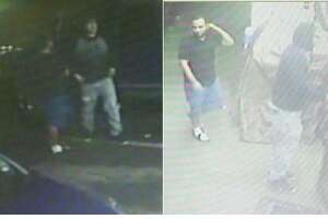 Laredo police said they need to identify these two men with a robbery that occurred Jan 12. in the 3400 block of North Arkansas Avenue.