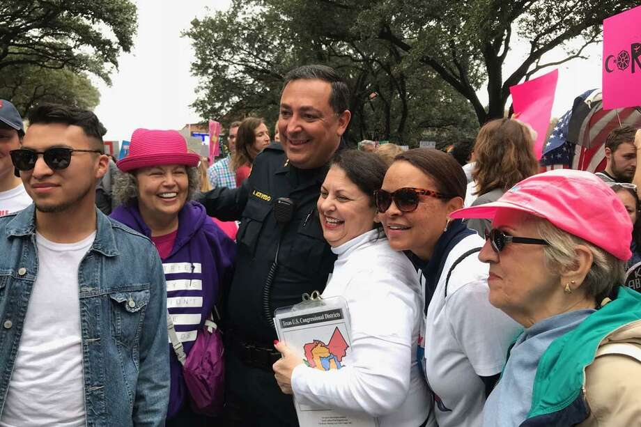 A Katy area activist group is inviting those interested to join them Saturday at this year's Women's March in Downtown Houston. Photo: IKH