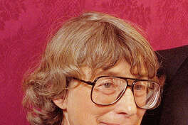 "FILE - In this Nov. 18, 1992 file photo, Mary Oliver appears at the National Book Awards in New York where she received the poetry award for her book ""New and Selected Poems."" Oliver, a Pulitzer Prize-winning poet whose rapturous odes to nature and animal life brought her critical acclaim and popular affection, died Thursday at her home in Hobe Sound, Fla. The case of death was lymphoma. She was 83."