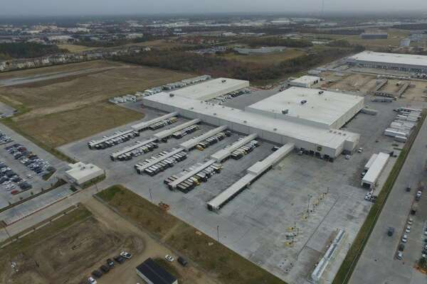 The new UPS Willowbrook package delivery operation is on 68 acres in northwest Houston.