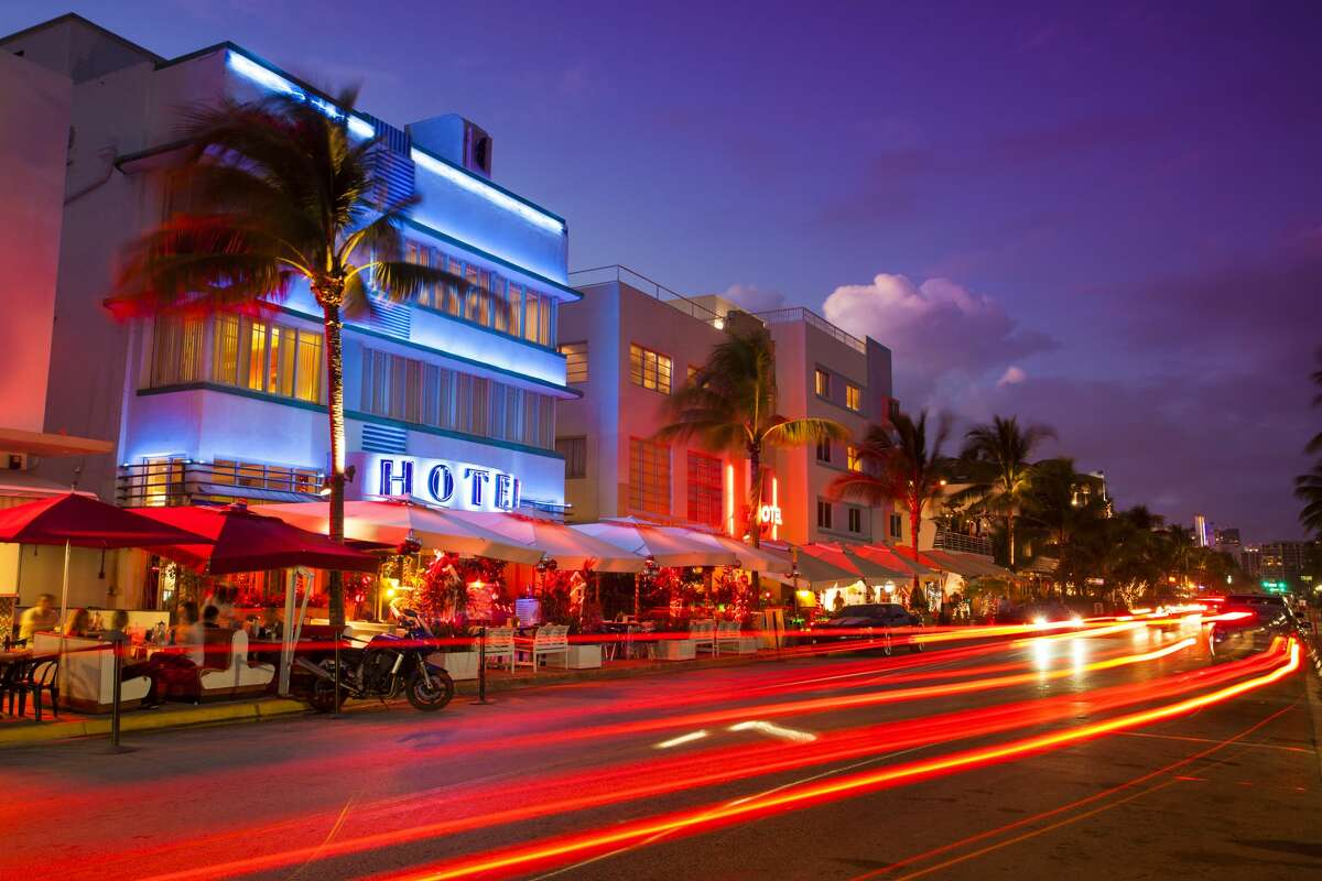 $1,167: Two-night stay at a hotel in Miami Beach, Florida.