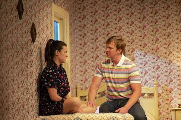 "Leah Karpel and Roderick Hill in ""Miller, Mississippi."""