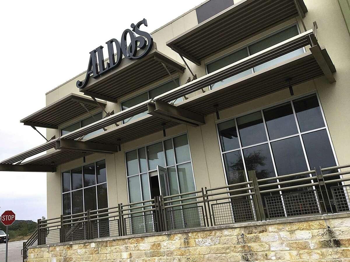 The new location of Aldo's Ristorante Italiano at the Dominion Ridge shopping center in northwest San Antonio.