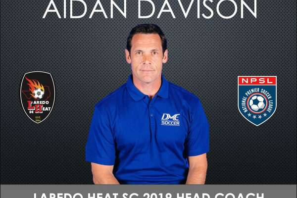 Aidan Davison was announced Thursday as the new head coach for Laredo Heat SC heading into its second season in the National Premier Soccer League.