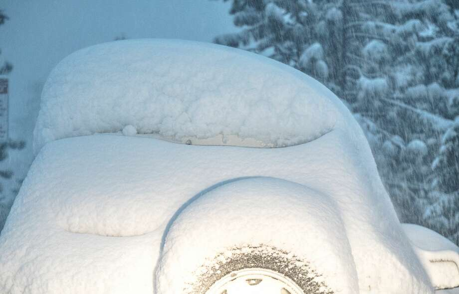 Sierra resorts can count snowfall totals in feet. Here's what they look like on Thursday.