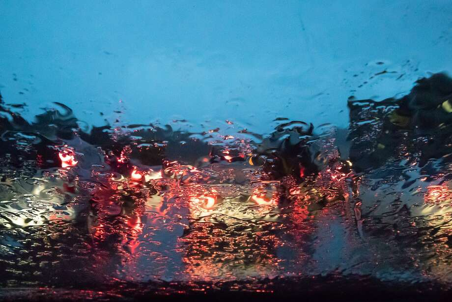 In this file photo, Westbound traffic backed up on 580 as rain poured on Thursday, Jan. 17, 2019, in Richmond, CA. Photo: Paul Kuroda / Special To The Chronicle
