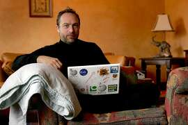 "Jimmy Wales, founder of Wikipedia, in 2007. Wikipedia, created to be ""the people's dictionary"" turned 18 this week. It now contains more than 48 million articles in some 300 languages."