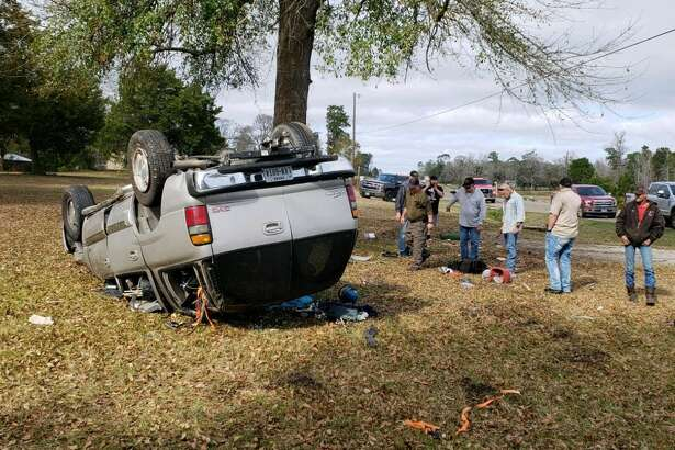 One person was injured in a rollover crash on Highway 96 South this afternoon. The crash occurred at approximately 1:30 p.m. The Jasper Newsboy is on the scene and reports that the individual driving is alert and able to answer questions. He is being transported to an area hospital. There are no further details at this time.