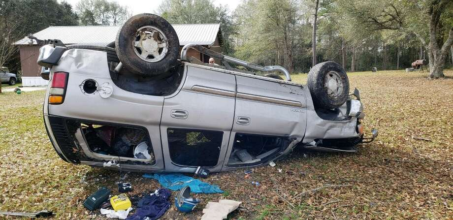 One person injured in Highway 96 rollover - Beaumont Enterprise