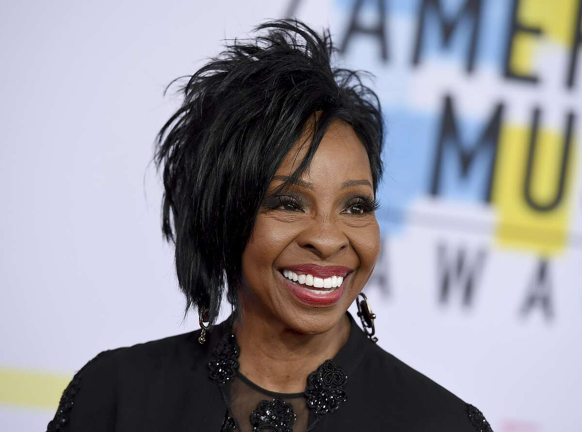 FILE-- Gladys Knight will sing the national anthem at this year's Super Bowl. Knight, who will be singing the national anthem at this year's Super Bowl in Atlanta, criticized Colin Kaepernick in a statement published by Variety on Friday