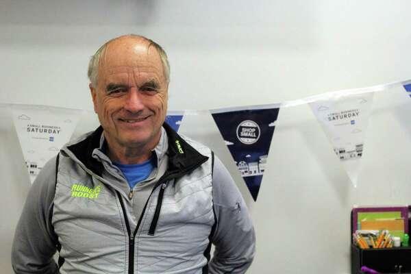 Steve Norris, owner of the Runner's Roost. Taken Jan. 15.