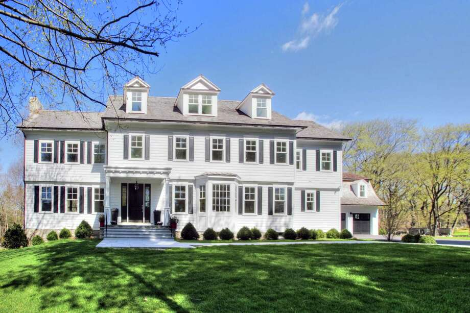 The Energy Star-rated colonial house at 133 North Avenue comprises 15 rooms and 9,533 square feet of living space on four finished levels. Photo: Contributed Photos