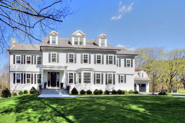 The Energy Star-rated colonial house at 133 North Avenue comprises 15 rooms and 9,533 square feet of living space on four finished levels.