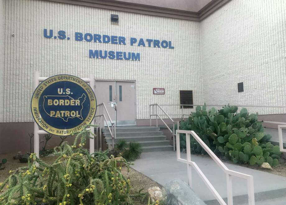 In this Nov. 29, 2018 photo, is the entrance of the U.S. Border Patrol Museum in El Paso, Texas. The U.S. Border Patrol Museum explores the story from the agency's formation to fight Chinese immigration and Prohibition, to its role amid massive migration and cartel drug smuggling. (AP Photo/Russell Contreras) Photo: Russell Contreras / Copyright 2019 The Associated Press. All rights reserved.