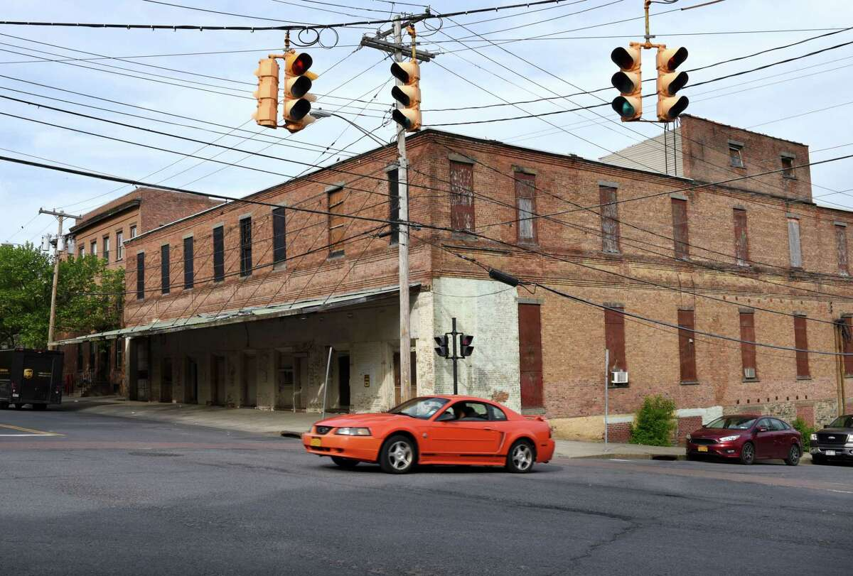 The proposed site for Capital Repertory Theatre at 251 North Pearl Street, four blocks north of the current location, on Tuesday, May 23, 2017, in Albany, N.Y. (Will Waldron/Times Union)