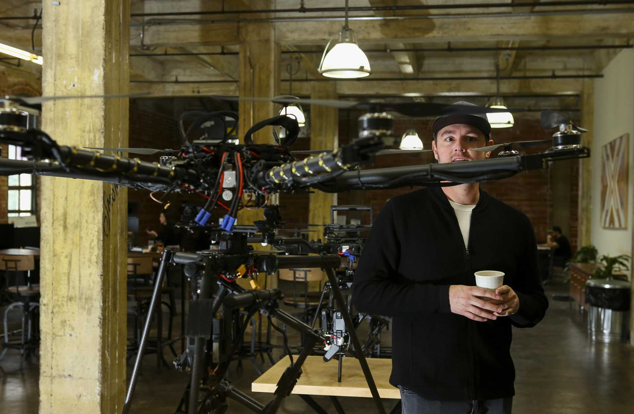 There's a drone for that: DroneWorks Studios can launch a flight for any project