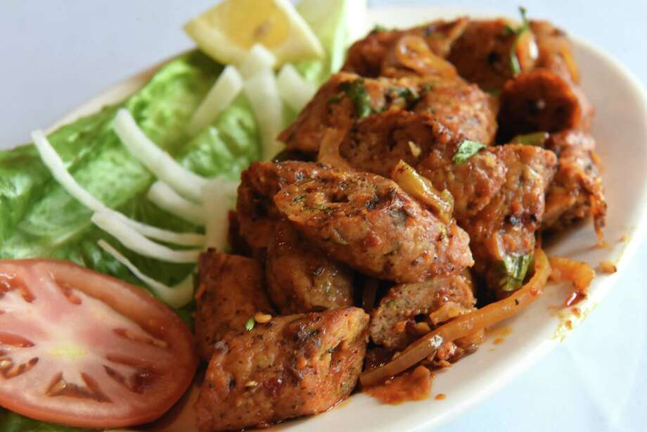 Chicken seekh kebab at Malasal House on Tuesday, Jan. 8, 2019 in East Greenbush, N.Y. (Lori Van Buren/Times Union) Photo: Lori Van Buren / 20045848A