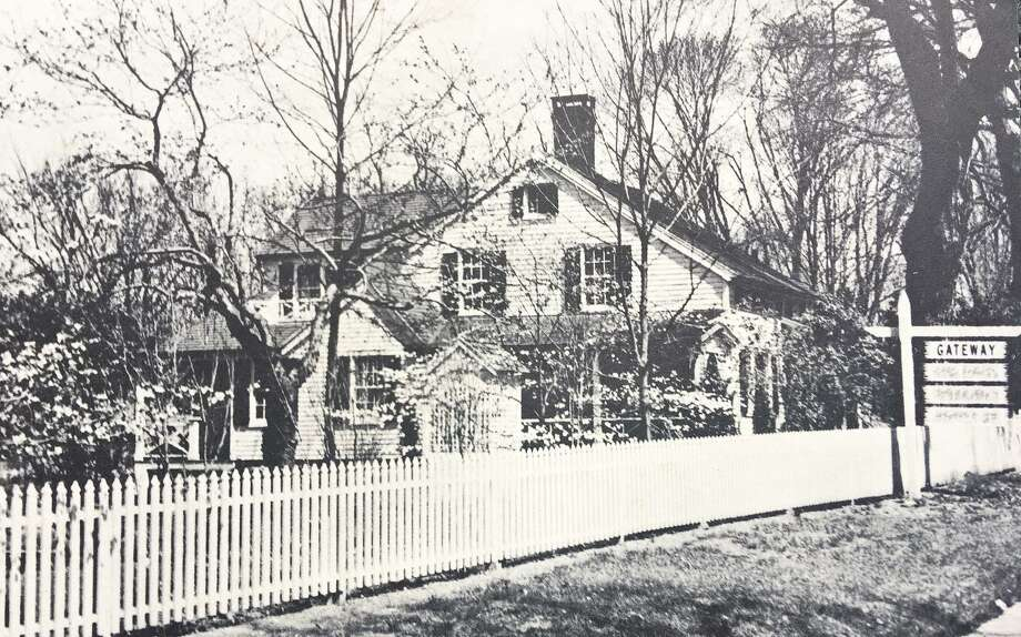 This original house was built in 1820 at 27 Danbury Road in Wlton. It was removed and rebuilt at 18 Forest Lane, Wilton in 1990. Photo: Contributed / Dagny's Real Estate / Contributed Photo / Norwalk Hour contributed