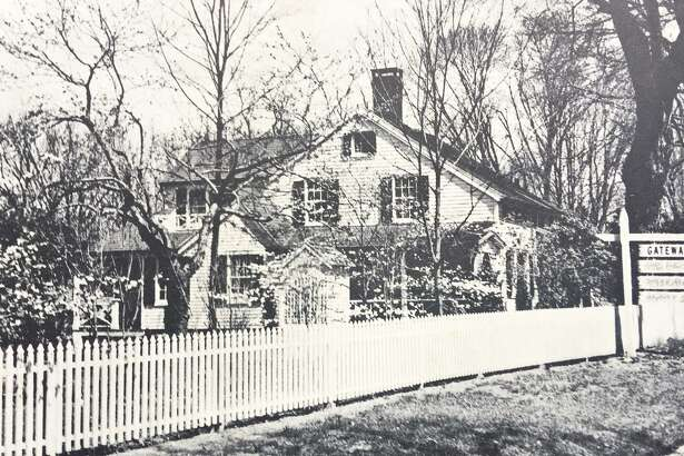 This original house was built in 1820 at 27 Danbury Road in Wlton. It was removed and rebuilt at 18 Forest Lane, Wilton in 1990.