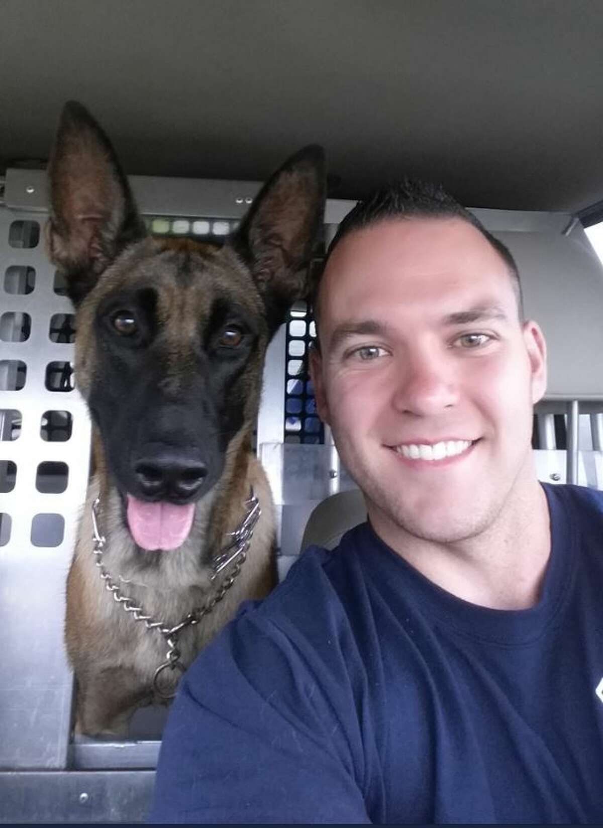The Houston police community came together when one of their own, a K-9 officer named