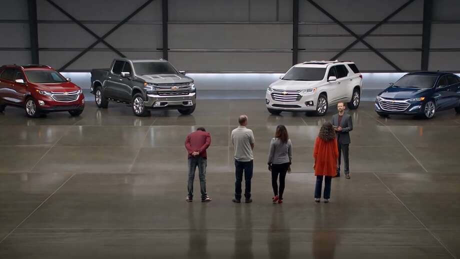 "Chevrolet is pulling its ""most reliable"" TV spot after the makers of cars it claimed to be inferior to its brand in reliability — Honda, Toyota and Ford — challenged General Motor's assertions. Photo: Screen Shot/GM Commercial"