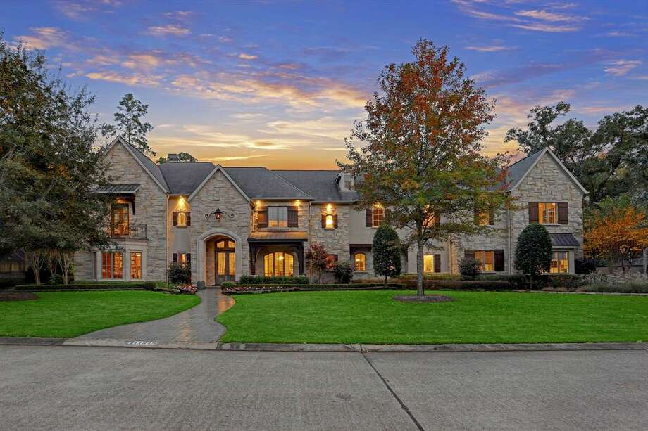 Located at 11849 Wink Road, this elegant $4.65 multi-generational home comes complete with six bedrooms, seven and a half bathrooms, a chef's kitchen, game room, home theater, outdoor oven that will make for the perfect pizza and a veranda overlooking an outdoor pool and spa. Photo courtesy HAR/TK Images Photo: Courtesy The Houston Association Of Realtors