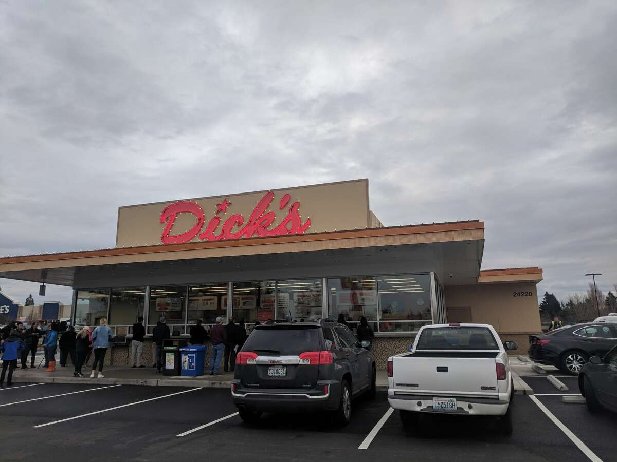 The Dick's Drive-In location in Kent.