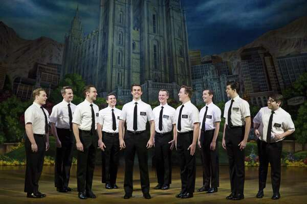 """The Book of Mormon"" is at the Hobby Center through Sunday."
