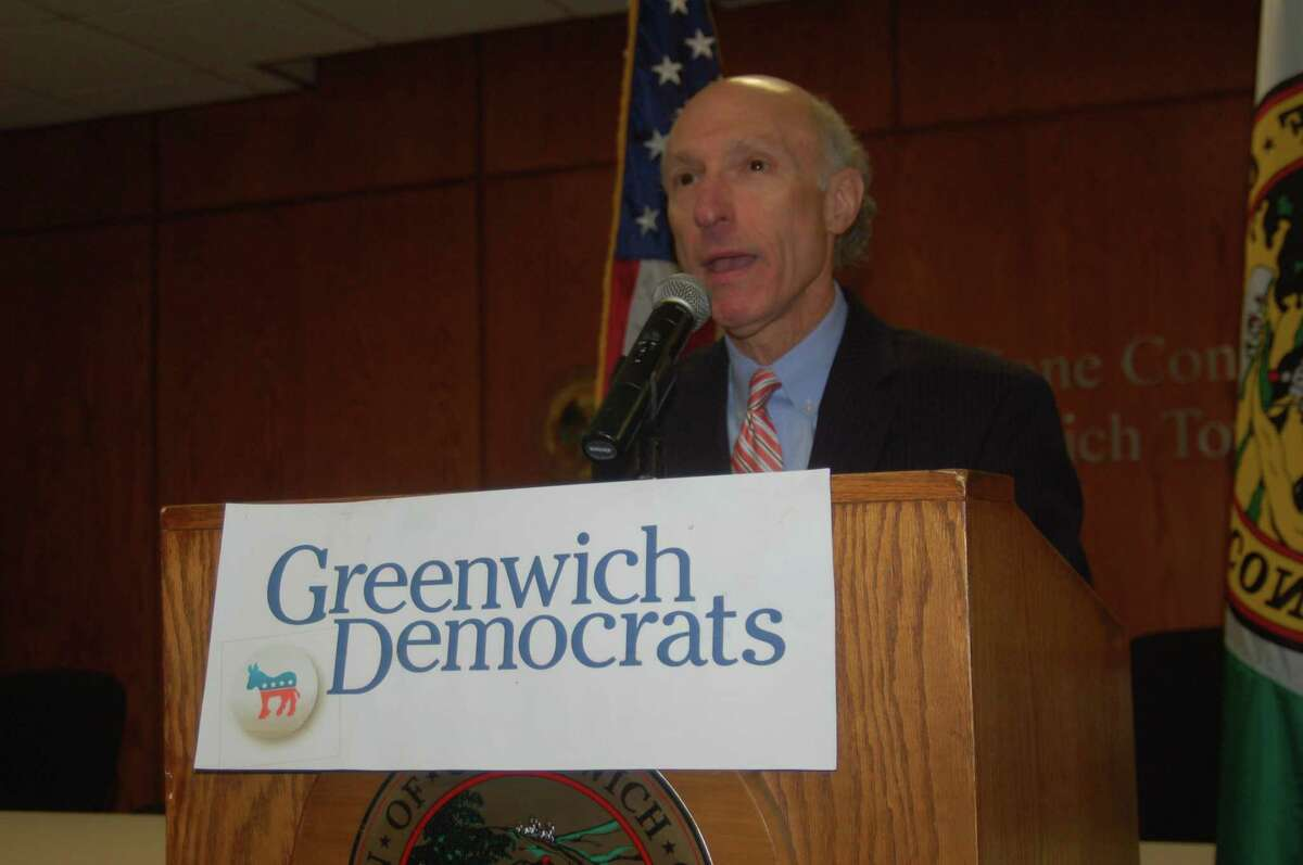 Greenwich Tax Collector Howard Richman is running on a platform of successful improvements in the office and a continued desire for public service. He announces the beginning of his re-election campaign on Thursday at Town Hall.