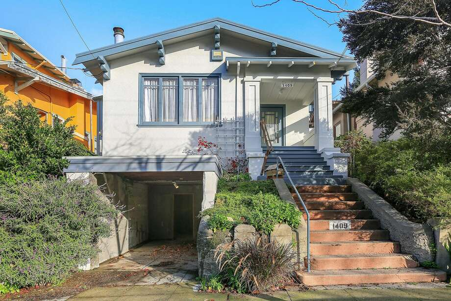 1409 Bonita Ave. is a two-story Craftsman in Berkeley's Gourmet Ghetto built in 1917. Photo: Open Homes Photography