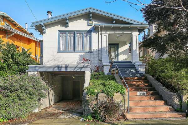 1409 Bonita Ave. is a two-story Craftsman in Berkeley's Gourmet Ghetto built in 1917.