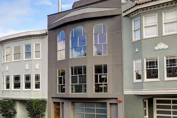 112 Mallorca Way in the Marina District is a five-bedroom with more than 4,800 square feet of living space.
