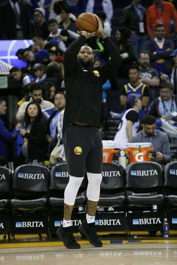 f14e4f5585b7 1of11Golden State Warriors center DeMarcus Cousins (0) practices before an NBA  game against the Dallas Mavericks at Oracle Arena on Saturday