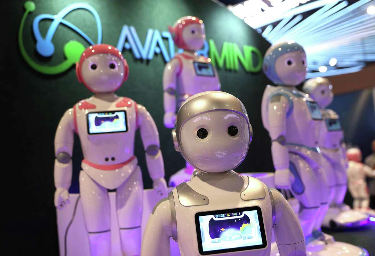LAS VEGAS, NEVADA - JANUARY 09: The AvatarMind iPAL Robot is displayed at the AvatarMind booth during CES 2019 at the Las Vegas Convention Center on January 9, 2019 in Las Vegas, Nevada. CES, the world's largest annual consumer technology trade show, runs through January 11 and features about 4,500 exhibitors showing off their latest products and services to more than 180,000 attendees. (Photo by Justin Sullivan/Getty Images)