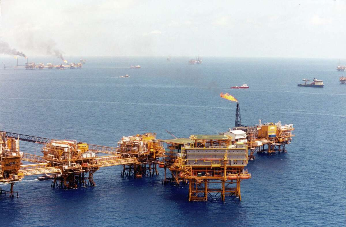 Pemex oil platforms in the Gulf of Mexico. Despite energy market reforms put in place five years ago, Mexican President Andres Manuel Lopez Obrador is moving once again to freeze out foreign oil and gas companies and consolidate the power and influence of Pemex, the state-owned oil company.