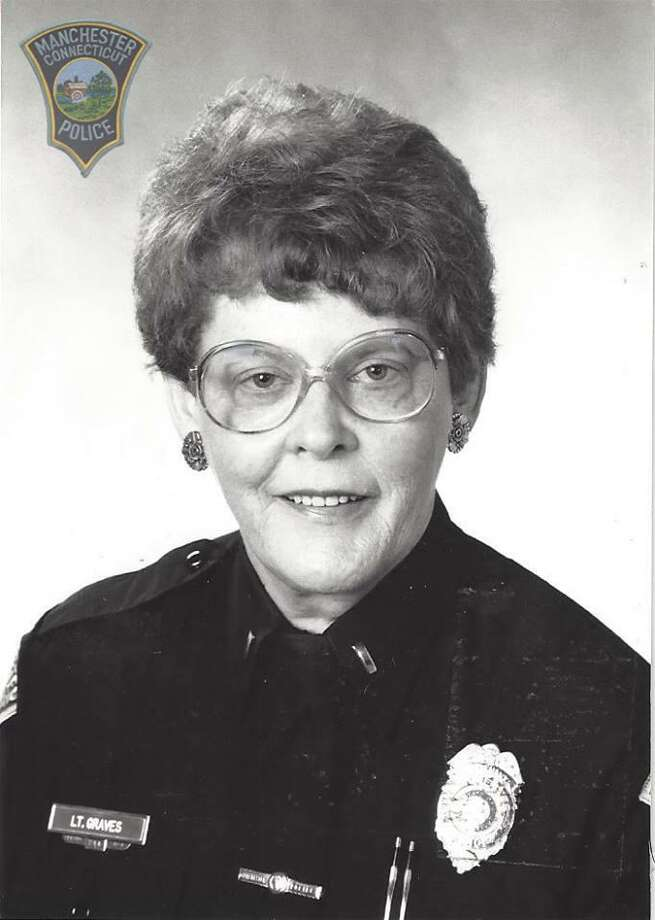Manchester Police Department's retired Lt. Patricia Ann Graves died Jan. 12 at the age of 81. Photo: Manchester Police Department