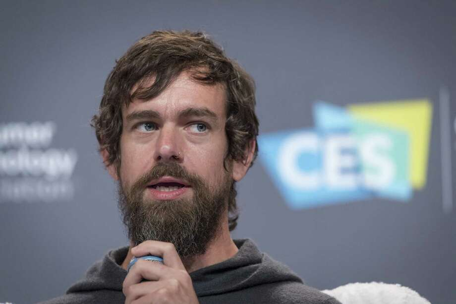 Jack Dorsey, co-founder and chief executive officer of Twitter Inc., dodged questions about what could get Trump banned from Twitter.  
