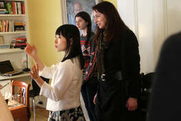 Marie Kondo shows clients how to tidy up their space - joyfully.