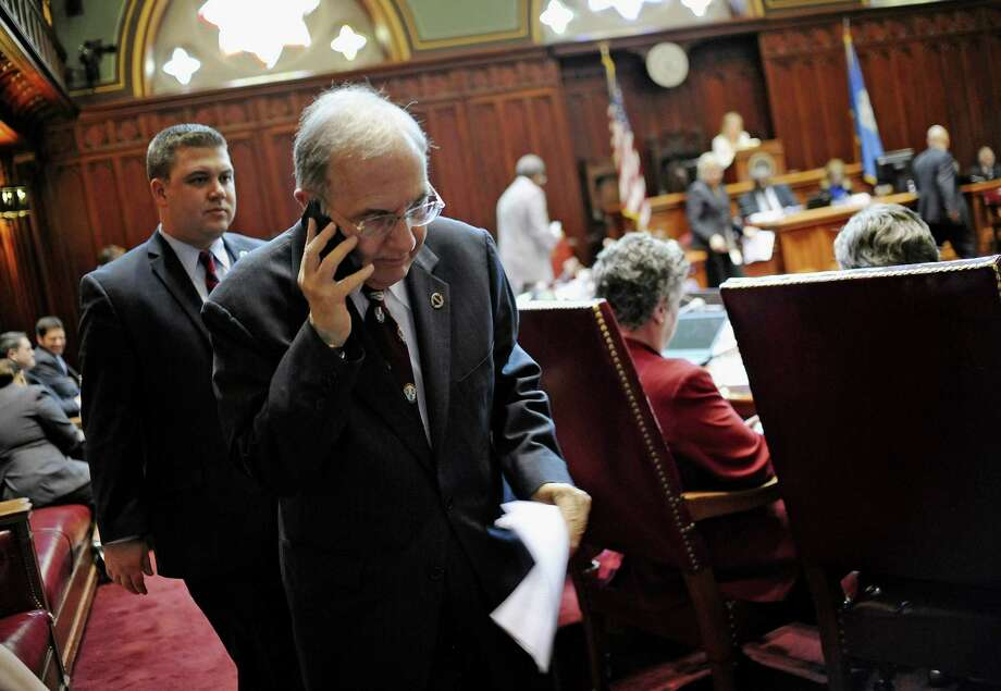 State Senate President Martin M. Looney, D-New Haven, said Wednesday that if Connecticut adopts electronic highway tolls, the gas tax should be reduced accordingly. Photo: Jessica Hill / AP Photo /Jessica Hill / Associated Press