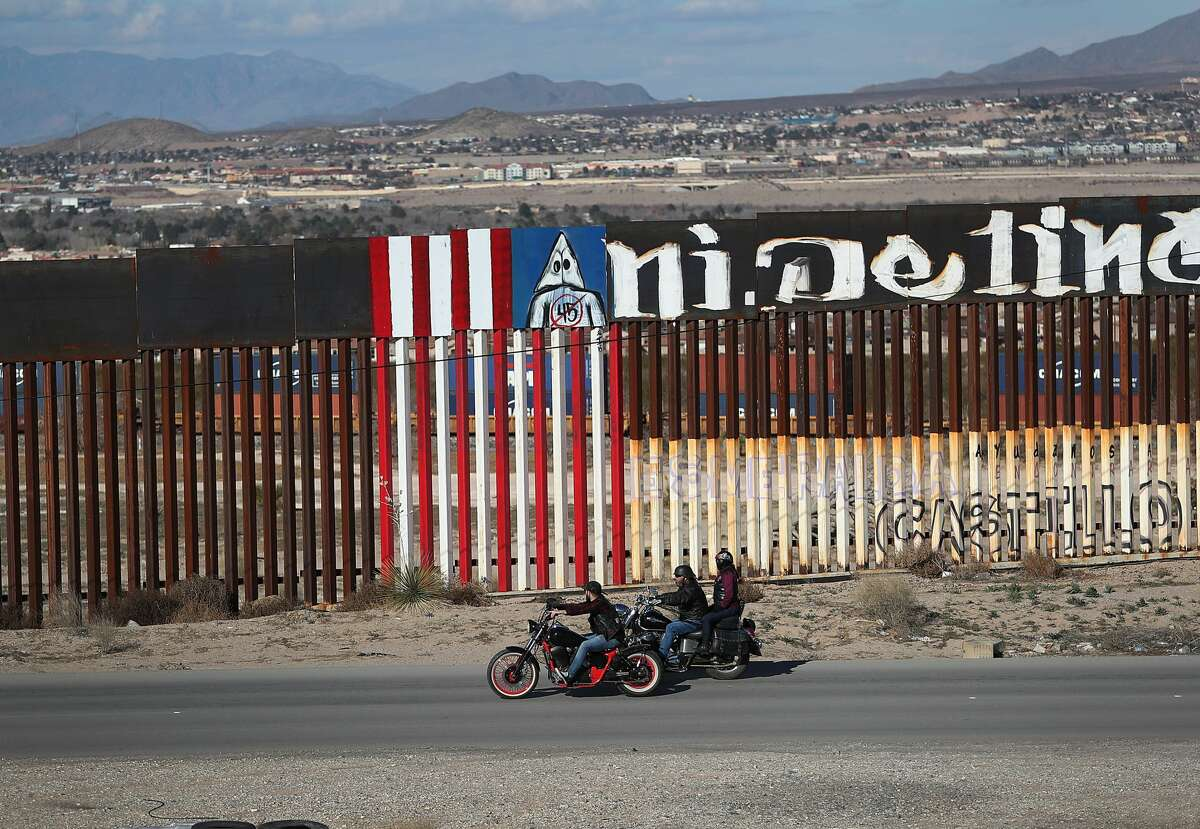 A part of the U.S. Border wall is seen on January 13, 2019 in Ciudad Juarez, Mexico. The U.S. government is partially shutdown as President Donald Trump is asking for $5.7 billion to build additional walls along the U.S.-Mexico border and the Democrats oppose the idea. (Photo by Joe Raedle/Getty Images)