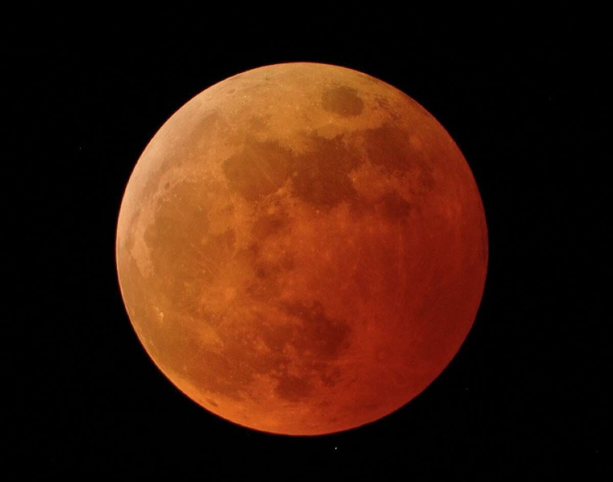 Because this full moon occurs about 27 hours after perigee (the Moon's closest approach to the Earth in its orbit) this full moon qualifies as a supermoon. Blood moons occur during total eclipses. A wolf moon is the first full moon in January.