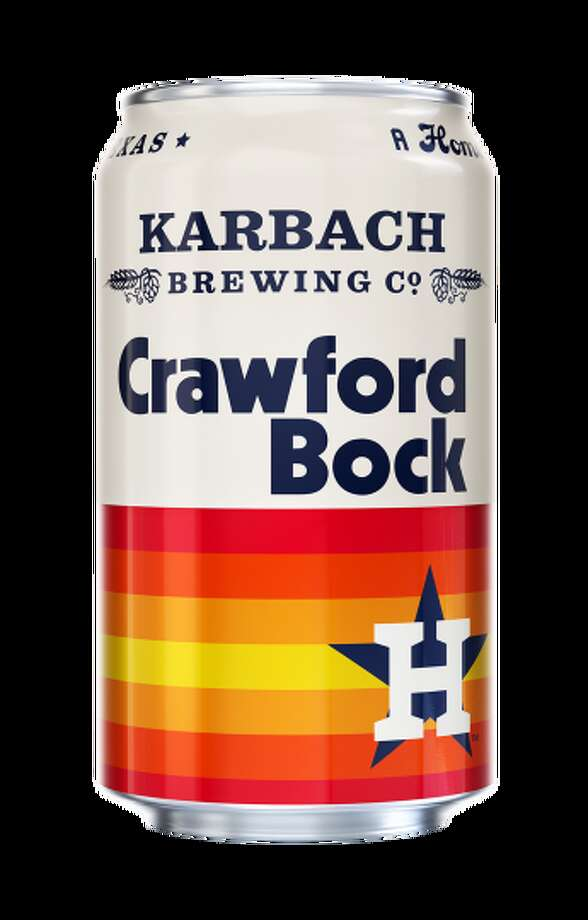 PHOTOS: The best places to get craft beers in Houston The Houston Astros and Karbach Brewing Co., teamed up on a new beer Crawford Bock that will debut before the 2019 baseball season. Photo: Karbach Brewing Co.